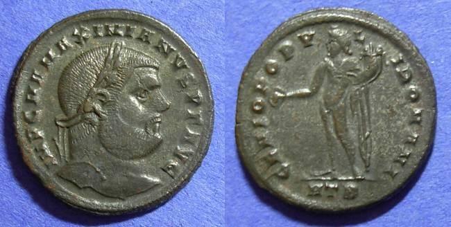 Ancient Coins - Roman Empire – Maximianus 286-305 – Follis
