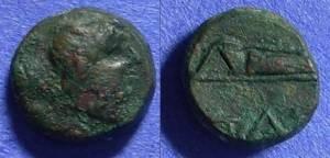 Ancient Coins - Pantikapaion Thrace - AE11 - Circa 200BC