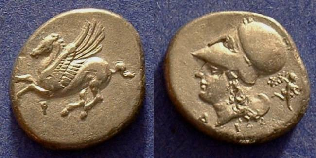Ancient Coins - Corinth Stater 345-305BC
