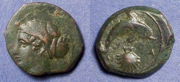 Ancient Coins - Syracuse, Sicily 400-390 BC, Hemilitron