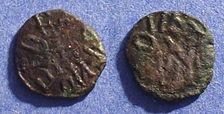 Ancient Coins - Kingdom of Northumbria - Aethelred II 841-9 AE Sceat
