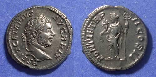 Ancient Coins - Roman Empire, Geta - Augustus 209-212, Denarius