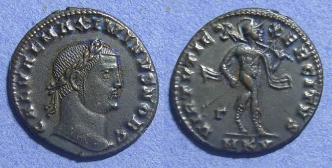 Ancient Coins - Roman Empire, Maximinus II (Caesar) 305-308, Follis, ex CNG