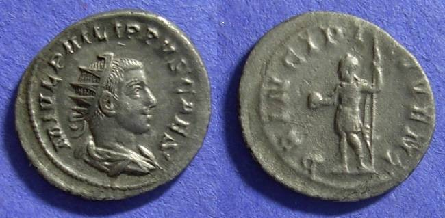 Ancient Coins - Philip II (as Caesar) 244-7 Antonininianus