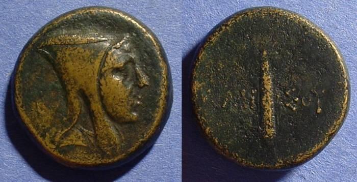 Ancient Coins - Amisos Pontos AE25 of 125-100 BC