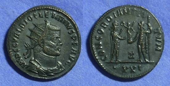 Ancient Coins - Diocletian 284-305 - Antoninianus