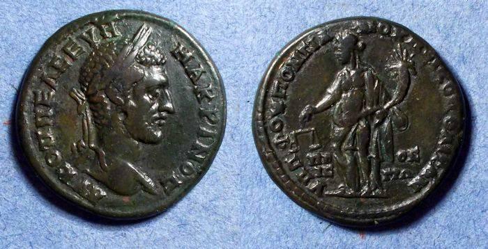 Ancient Coins - Roman Nicopolis, Macrianus 217-8, 5 Assaria