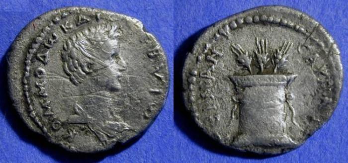 Ancient Coins - Commodus - 177-192AD - Tridrachm of Caesarea Cappadocia