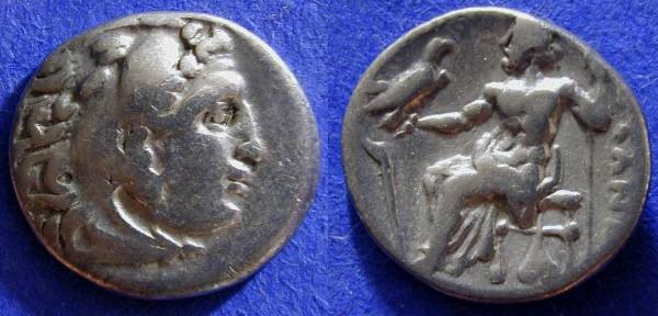 Ancient Coins - Macedonian Kingdom - Alexander III (the Great) 336-323BC