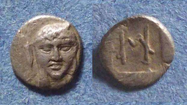 Ancient Coins - Kolophon, Ionia 450-410 BC, Hemiobol