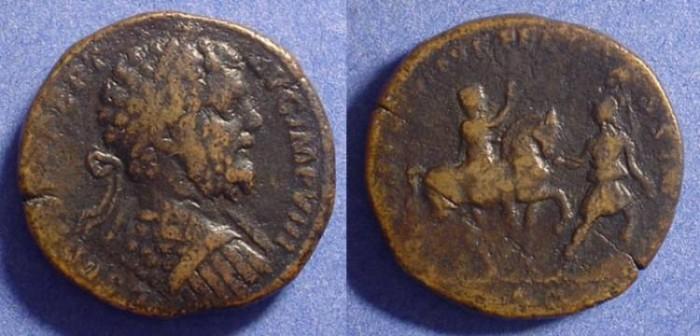 Ancient Coins - Septimius Severus 193-211AD Sestertius