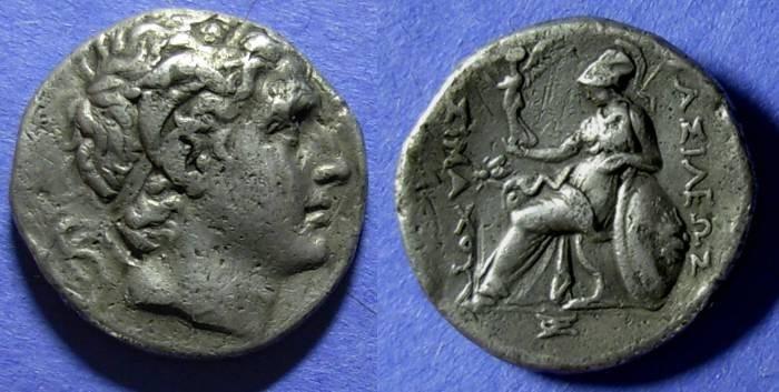 Ancient Coins - Kingdom of Thrace, Lysimachos 305-281 BC, Tetradrachm