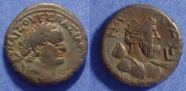 Ancient Coins - Roman Egypt - Titus 79-81AD - Billon Tetradrachm