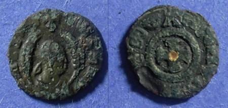 Ancient Coins - Axum, MHDYS 400-450 AD, AE13