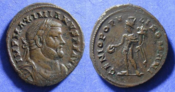 Ancient Coins - Maximianus - 286-305 Follis London mint