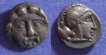 Ancient Coins - Selge, Pisidia Circa 300 BC, Trihemiobol