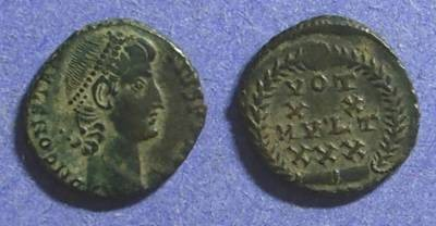 Ancient Coins - Roman Empire Constantius 337-361 AE4