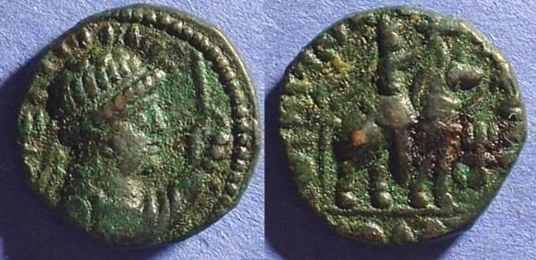 Ancient Coins - Kushan Kingdom,  Vima Takto (Soter Megas) AE Tetradrachm C.80-100AD