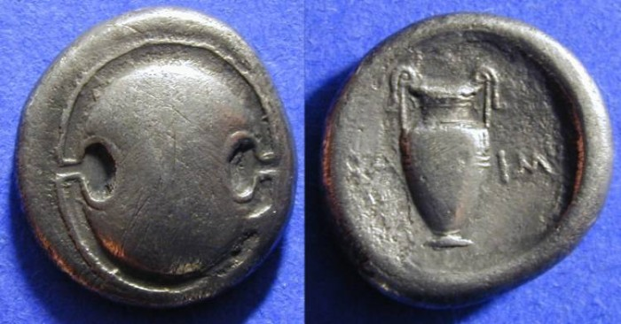 Ancient Coins - Boeotia - Stater 390-335 BC