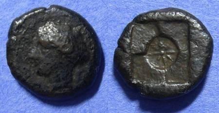 Ancient Coins - Syracuse Sicily AE Hemilitron Circa 415 BC