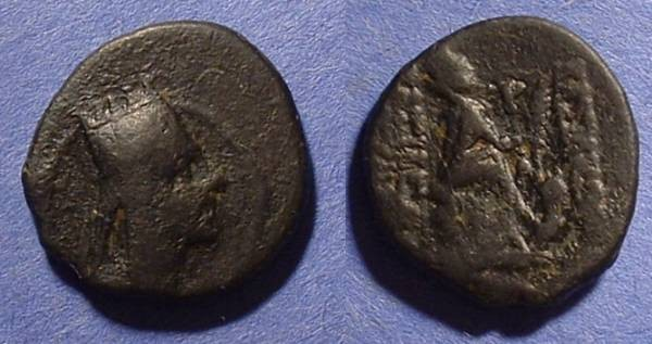 Ancient Coins - Seleucid Kingdom: Tigranes II 83-69BC AE20
