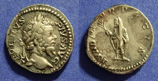 Ancient Coins - Septimius Severus 193-211 Denarius