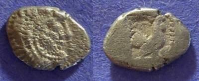 Ancient Coins - Dikaia Thrace – Hemidrachm: 480-450 BC