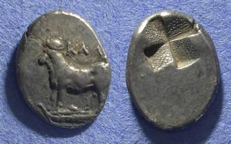 Ancient Coins - Bythnia, Kalchedon 340-320 BC, Half Siglos