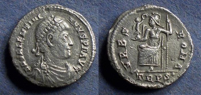 Ancient Coins - Roman Empire, Valentinian 364-375, Siliqua