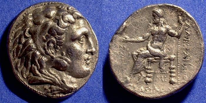 Ancient Coins - Macedonian Kingdom - Alexander III (the great) Tetradrachm of Babylon