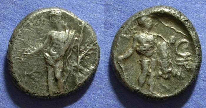 Ancient Coins - Issos Cilicia, Tribazos Satrap 386-380 BC, Stater