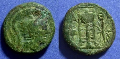 Ancient Coins - Athens Attica 166-57 BC AE17