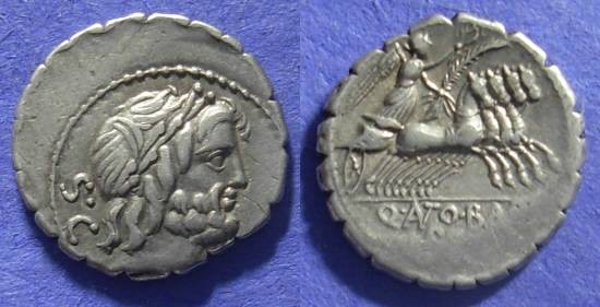 Ancient Coins - Roman Republic – Denarius – 83-82BC – Antonia 1