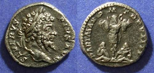 Ancient Coins - Roman Empire, Septimius Severus 193-211, Denarius