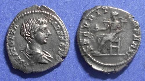 Ancient Coins - Roman Empire, Geta (Caesar) 198-208, Denarius