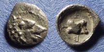 Ancient Coins - Lycia, Uncertain Circa 350 BC, Hemiobol