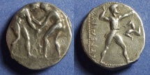 Ancient Coins - Pamphylia, Aspendus Circa 350 BC, Stater
