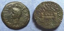 Ancient Coins - Augusta Emerita Spain, Tiberius 14-37, AE27