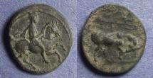 Ancient Coins - Thessaly, Krannon Circa 350 BC, AE14