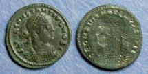 Ancient Coins - Roman Empire, Constantius II (as Caesar) 317-337, Brockage AE3