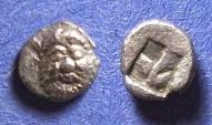Ancient Coins - Lesbos, Methymna Circa 400 BC, Tritartemorion