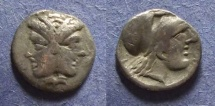 Ancient Coins - Mysia, Lampsakos 390-330 BC, Trihemiobol