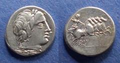 Ancient Coins - Roman Republic, Anonymous 86 BC, Denarius