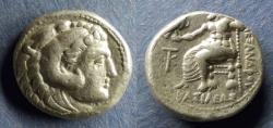 Ancient Coins - Macedonian Kingdom, Alexander III 336-323 BC, Poss. Lifetime Tetradrachm