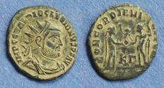 Ancient Coins - Roman Empire, Diocletian 284-305, Radiate