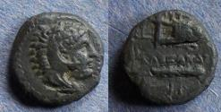 Ancient Coins - Macedonian Kingdom, Alexander III Struck circa 310 BC, AE11