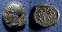 Ancient Coins - Aeolis, Elaia 450-400 BC, Diobol
