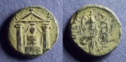 Ancient Coins - Pamphylia, Perge 50-30 BC, AE17