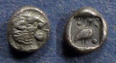 Ancient Coins - Caria, Mylasa 420-390 BC, Tetartemorion