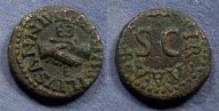 Ancient Coins - Roman Empire, Augustus 27BC-14AD, Quadrans